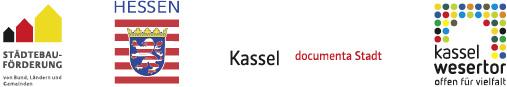 Förderer für 1. ART Wesertor, Städtebauförderung, Land Hessen, Kassel, Kassel-Wesertor